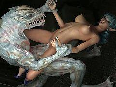 Creatures Gangbang 3d Babes