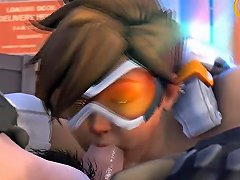 Overwatch Tracer Gets Kinky 3d Animated Pov